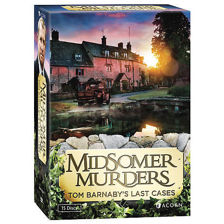 Midsomer Murders: Tom Barnaby's Last Cases DVD