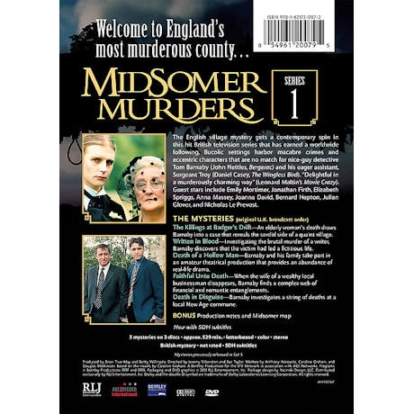 Midsomer Murders: Series 1 DVD