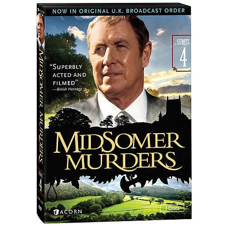 Midsomer Murders: Series 4 DVD