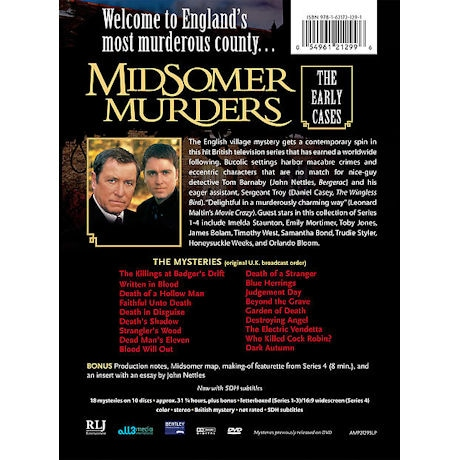 Midsomer Murders: The Early Cases Collection - Series 1-4 DVD