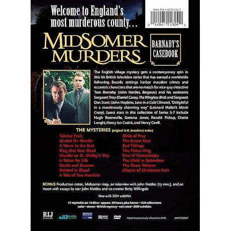 Midsomer Murders: Barnaby's Casebook - Series 5-7 DVD