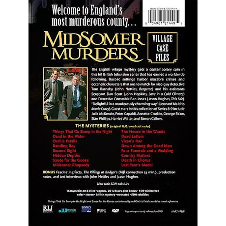 Midsomer Murders: Village Case Files DVD