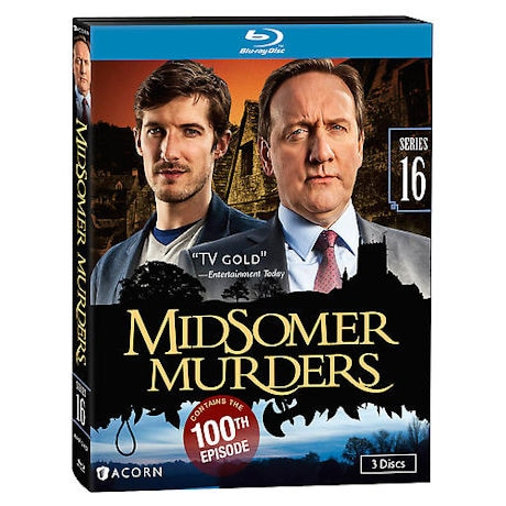 Midsomer Murders: Series 16 DVD & Blu-ray