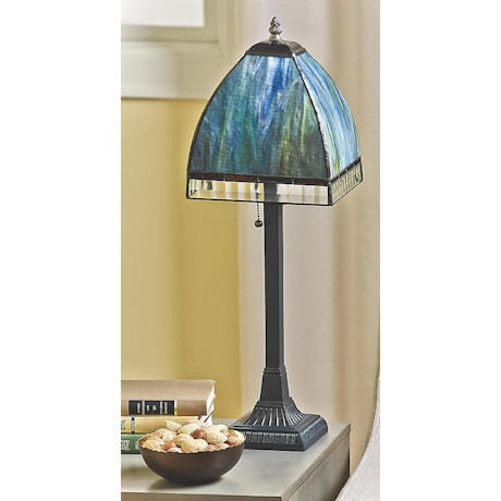 Monet's Garden Table Lamp