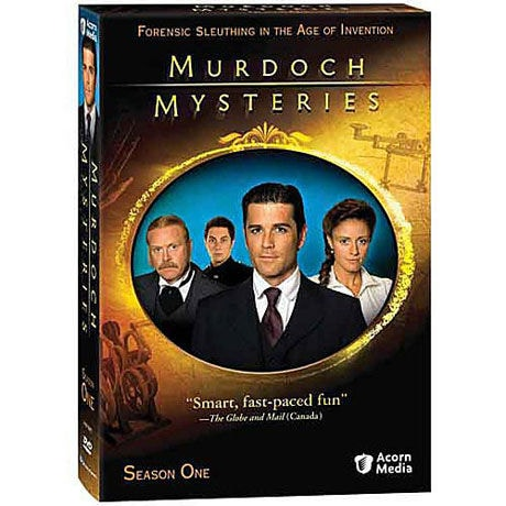 Murdoch Mysteries: Season 1 DVD & Blu-ray