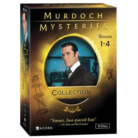 Murdoch Mysteries Collection: Seasons 1-4 DVD & Blu-ray