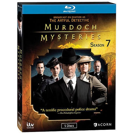 Murdoch Mysteries: Season 7 DVD & Blu-ray