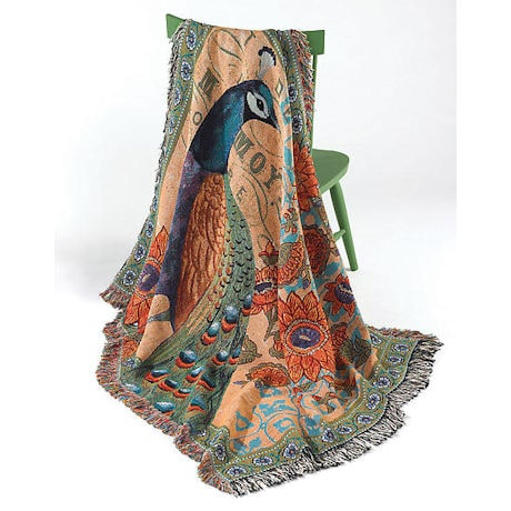 Peacock Throw