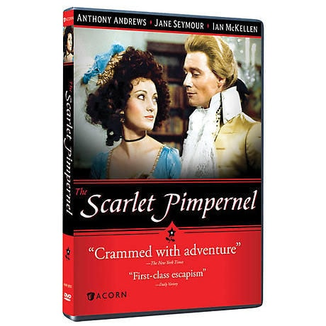 The Scarlet Pimpernel DVD