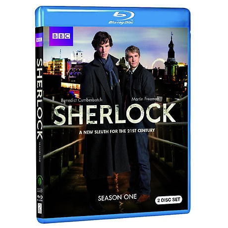 Sherlock: Season 1  (BBC) DVD & Blu-ray