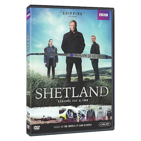 Shetland: Seasons One & Two DVD