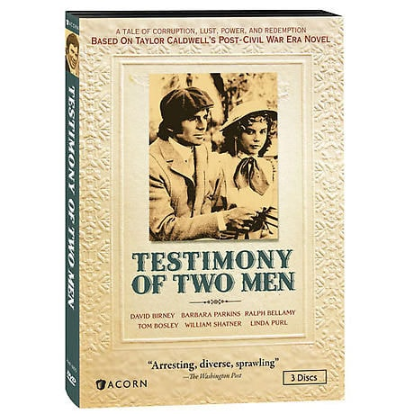 The Testimony of Two Men DVD