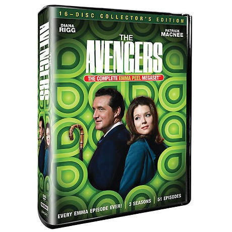 The Avengers: Complete Emma Peel Mega Set DVD