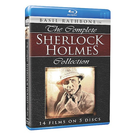 Basil Rathbone Sherlock Holmes: Complete