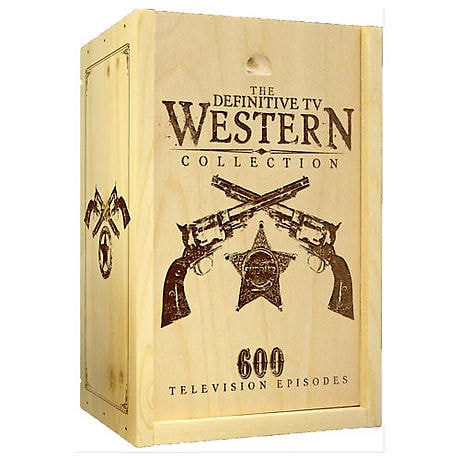 The Definitive TV Western Collection DVD