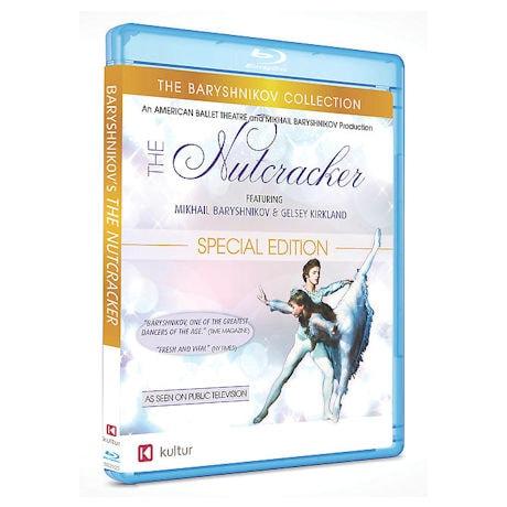 The Nutcracker:  The Baryshnikov Collection DVD & Blu-ray