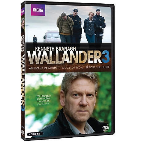 Wallander: Season 3 DVD
