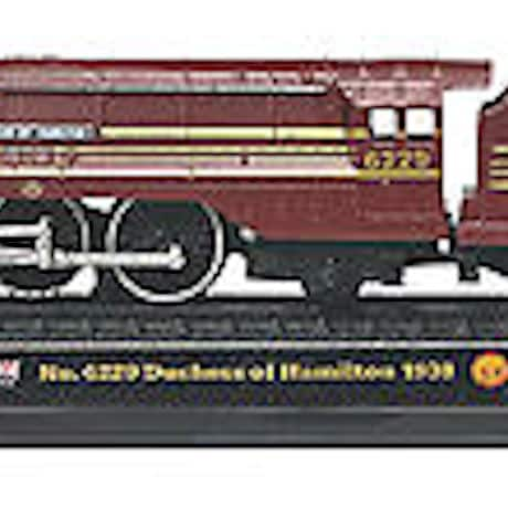 UK Diecast Trains--Duchess of Hamilton Train