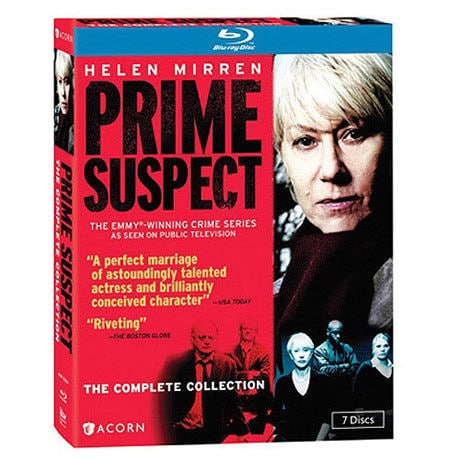 Prime Suspect: The Complete Collection Blu-ray