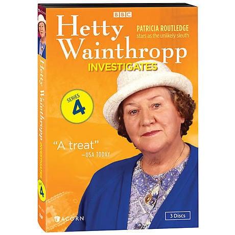 Hetty Wainthropp Investigates: Series 4 DVD