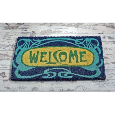 Art Nouveau Welcome Mat