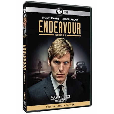 Endeavour: Series 2 DVD & Blu-ray