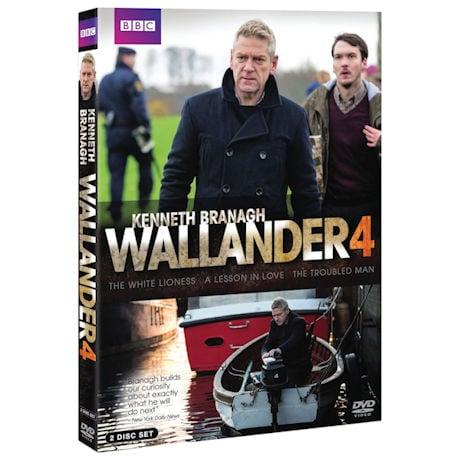 Wallander Season 4 DVD