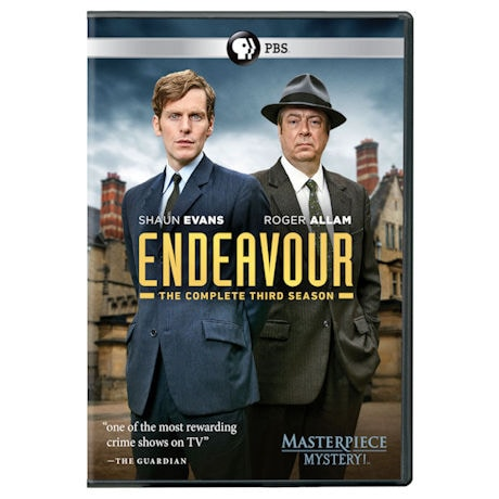Endeavour: Series 3 DVD & Blu-ray