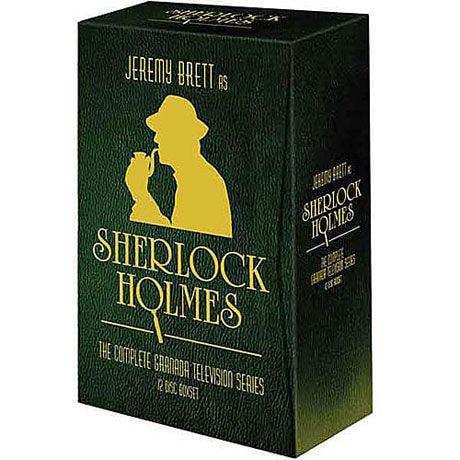 Ultimate Jeremy Brett as Sherlock Holmes Collection DVD & Blu-ray
