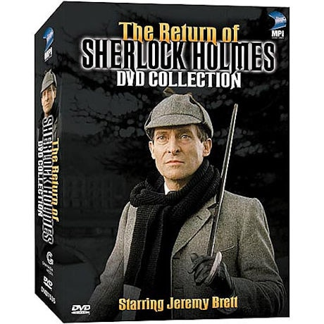 The Return of Sherlock Holmes DVD & Blu-ray