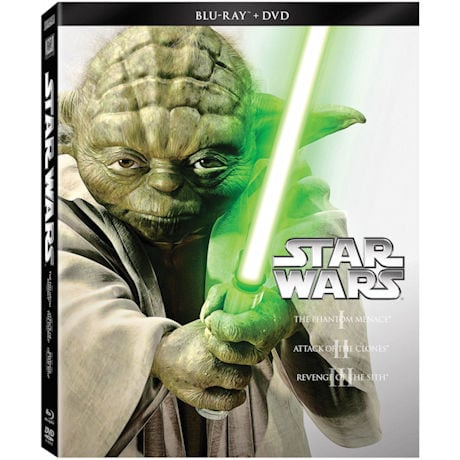 Star Wars™ The Prequel Trilogy Blu-ray/DVD Combo
