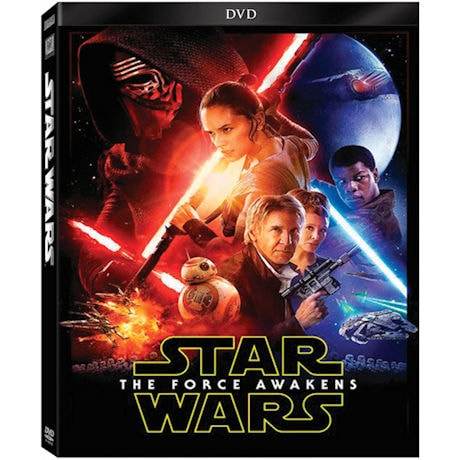 Star Wars™: Episode VII: The Force Awakens DVD, Blu-ray and Digital HD Combo