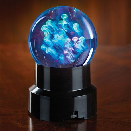 Crystal Jellyfish Sphere
