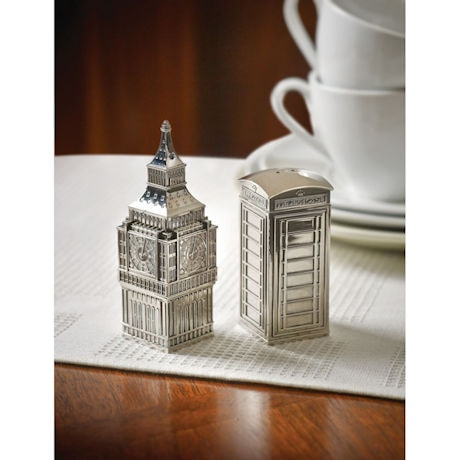 Big Ben and British Call Box Salt & Pepper