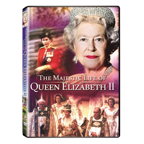 The Majestic Life of Queen Elizabeth II DVD