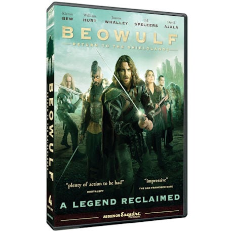 Beowulf: Return to the Shieldlands DVD & Blu-ray
