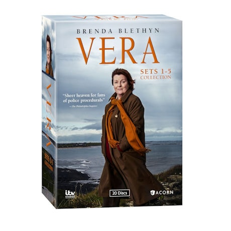 Vera: Sets 1-5 Collection DVD