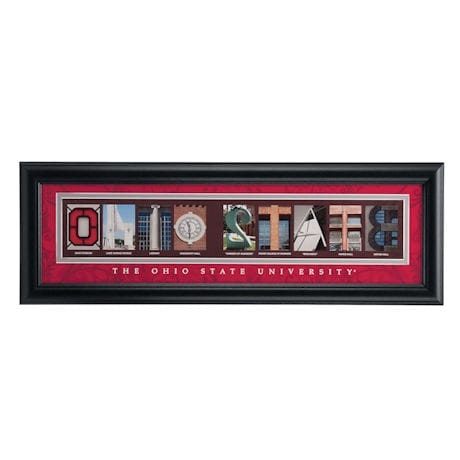 Campus Letter Art - Standard Frame