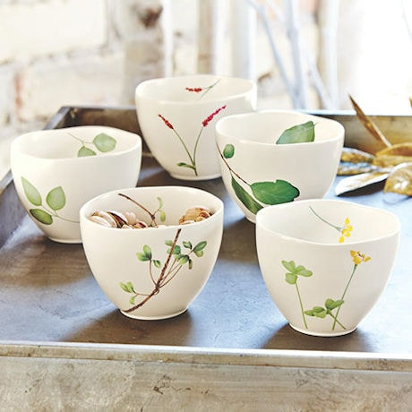Japanese Botanical Bowls