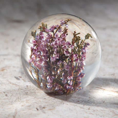 Heather Paperweight