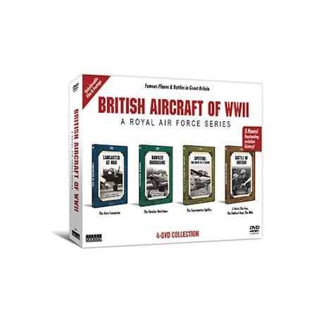 British Aircraft of WWII S/4 DVD