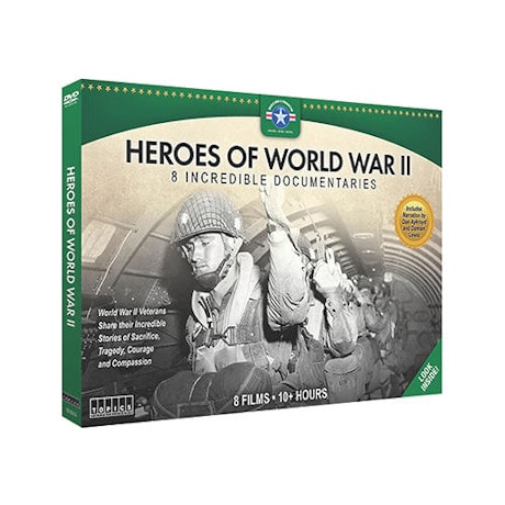 Heroes of World War II DVD