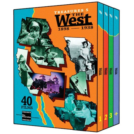 Treasures 5: The West: 1898-1938 DVD