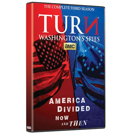 TURN: Washington's Spies: The Complete Third Season DVD