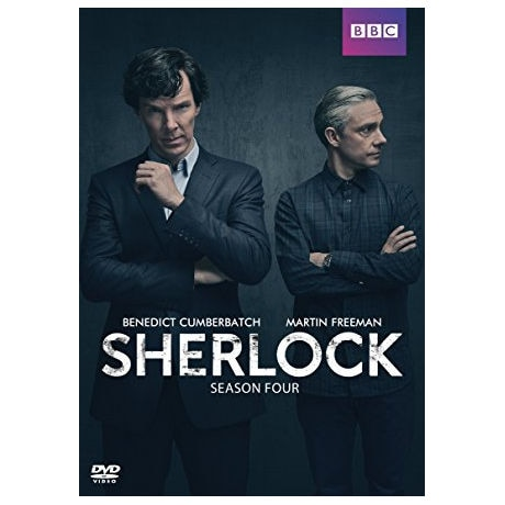 Sherlock: Season Four DVD & Blu-ray