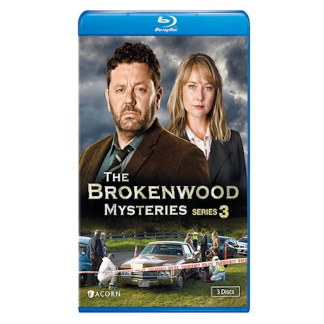 Brokenwood Mysteries Series 3 DVD & Blu-ray