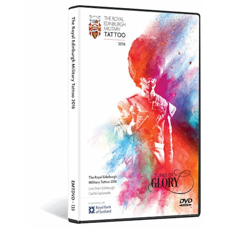 Edinburgh Military Tattoo 2016 DVD