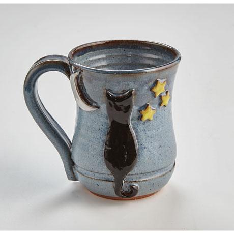 Handmade Cat Mug