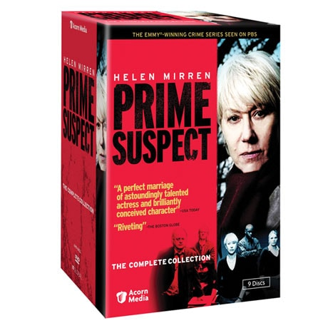 Prime Suspect: The Complete Collection DVD