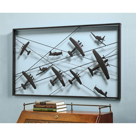 Vintage Airplanes Wall Art